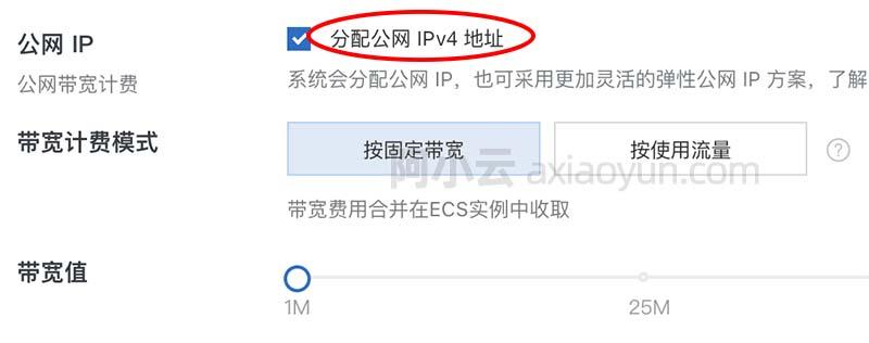 阿里云服务器独立公网IP